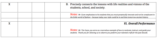 Tim Gunn Teacher Review Page 4