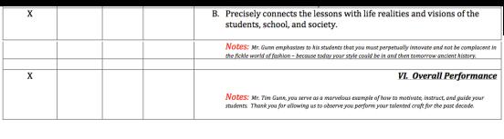 Tim Gunn Teacher Review Page 4
